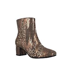 Jarles Sequin Ankle Bootie with Memory Foam