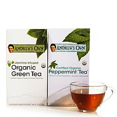 Jasmine Green Tea AND Peppermint Tea - 30 + 30