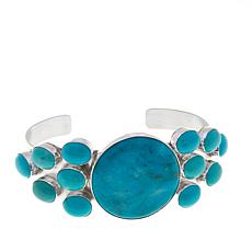 Jay King Angel Peak Turquoise Cuff Bracelet