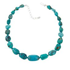 "Jay King Azure Peaks Turquoise Nugget 18"" Necklace"