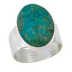 Jay King Azure Peaks Turquoise Oval Sterling Silver Ring