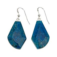 Jay King Freeform Blue Apatite Drop Earrings