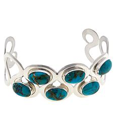 Jay King Gallery Collection Ceremonial Kingman Turquoise Cuff Bracelet