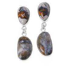 Jay King Gallery Collection Indian Blanket Stone Earrings