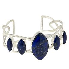 Jay King Gallery Collection Lapis 5-Stone Cuff Bracelet