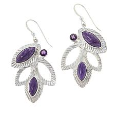 Jay King Gallery Collection Sterling Silver Multigemstone Earrings