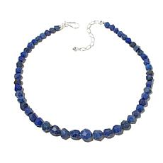 "Jay King Graduated Azurite Bead 18"" Necklace"