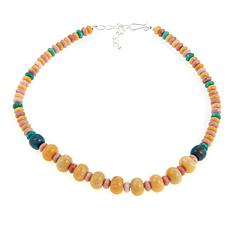 "Jay King Graduated Multigemstone Bead 18"" Necklace"