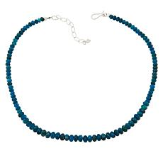 Jay King Neon Blue Apatite Beaded Necklace