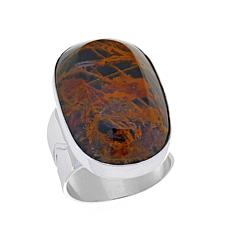 Jay King Oval Pilbara Stone Sterling Silver Ring
