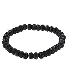 Jay King Rainbow Obsidian Bead Stretch Bracelet