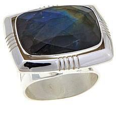Jay King Rectangular Labradorite Sterling Silver Ring
