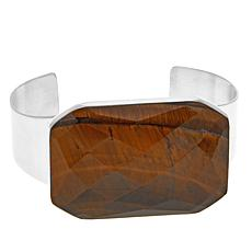 Jay King Rectangular Tiger's Eye Cuff Bracelet