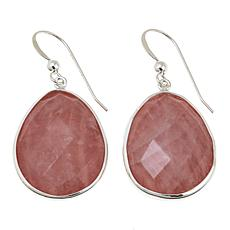 Jay King Rose Quartz and Pink Opal Double-Sided Earrings