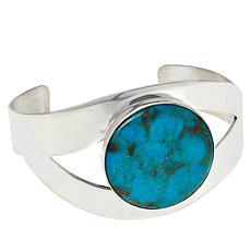 Jay King Sterling Silver Azure Peaks Turquoise Cuff Bracelet