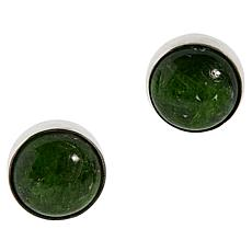 Jay King Sterling Silver Chrome Diopside Stud Earrings