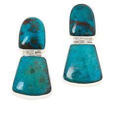 Jay King Sterling Silver Chrysocolla Earrings