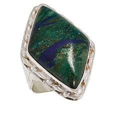 Jay King Sterling Silver Courtland Plume Stone Ring