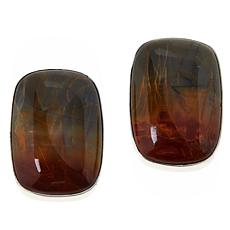 Jay King Sterling Silver Rainbow Jasper Cushion-Cut Earrings