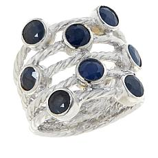 Jay King Sterling Silver Sapphire Multi-Stone Ring