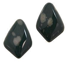 Jay King Sterling Silver Sea Flower Stone Earrings
