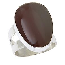 Jay King Sterling Silver Shaanxi Spice Agate Ring