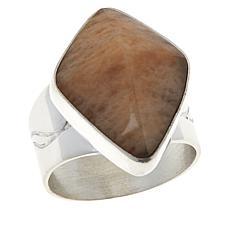 Jay King Sterling Silver Sunstone Freeform Ring