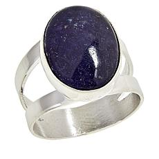 Jay King Sterling Silver Tanzanite Oval Ring