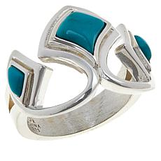 Jay King Sterling Silver Turquoise Hill Turquoise Ring