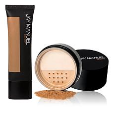 Jay Manuel Beauty® Skin Perfector and Loose Powder - Deep 1
