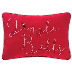 Jazzy Jingle Bells Pillow