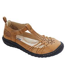 JBU by Jambu Sahara Casual Perforated T-Strap Shoe