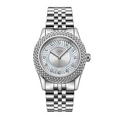 "JBW ""Carina"" Rosetone Women's 12-Diamond Bracelet Watch"