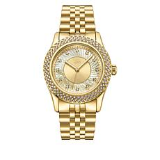 "JBW ""Carina"" Women's Goldtone 12-Diamond Bracelet Watch"