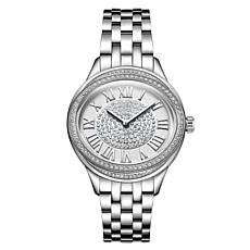 "JBW ""Plaza"" Single Diamond Interchangeable Bracelet and Strap Watch"