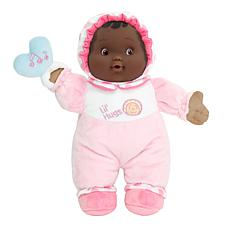 """JC Toys Lil' Hugs 12"""" Your Baby's First Doll African American"""
