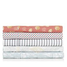 Jeffrey Banks Printed Microfiber Sheet Set