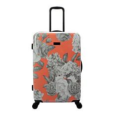 Jessica Simpson English Rose 25-inch Hardside Spinner in Coral