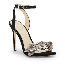 Jessica Simpson Jazzy Suede Embellished Dress Sandal