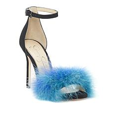 Jessica Simpson Jesaphine Feather Dress Sandal