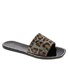 Jessica Simpson Kassime Embellished Jelly Slide Sandal