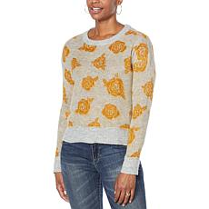 Jessica Simpson Kenna Patterned Jacquard Sweater