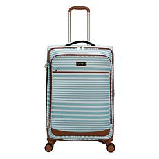 Jessica Simpson Nantucket 25-inch Softside Luggage - Aqua