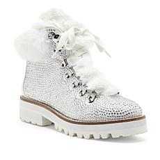 Jessica Simpson Norina Studded Lace-Up Boot