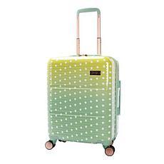 Jessica Simpson Pearla 20-inch Hardside Luggage - Pistachio