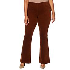 Jessica Simpson Pull-On High Rise Flared Pant - Plus