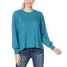 Jessica Simpson Wilder Waffle Knit Tee