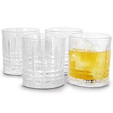 Jewelite 4 Piece 11 oz. Double Old Fashioned Glass Set
