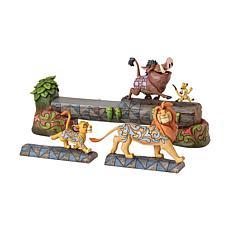 Jim Shore Disney Traditions - Simba Timon and Pumbaa