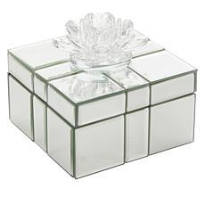 JM by Julien Macdonald Lotus Flower Present Trinket Box